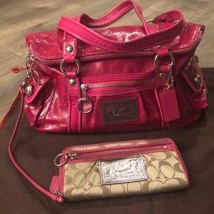 💖 NWOT LIMITED EDITION COACH POPPY BAG & WALLET